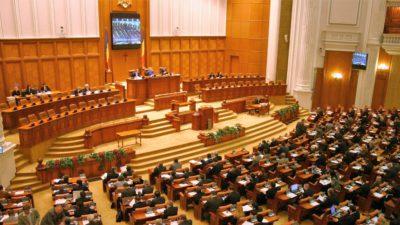 """Parlamentul, la """"dietă"""": legea care reduce numărul, adoptată de Senat"""