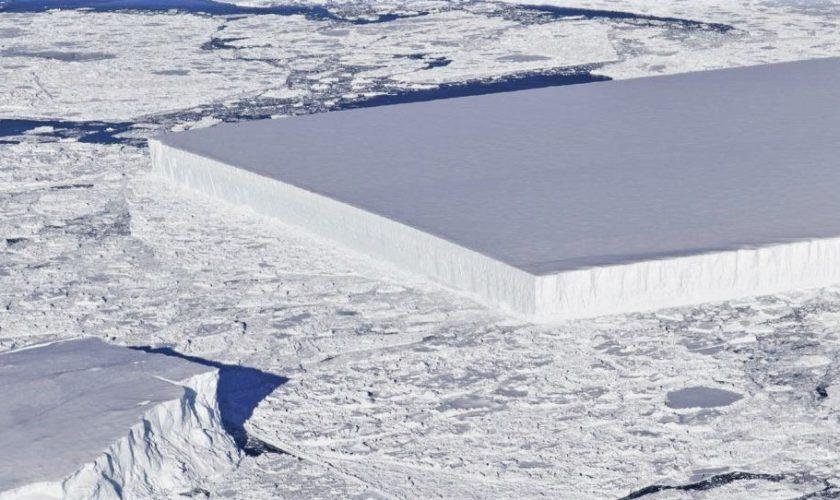 Adevărul despre aisbergul bizar de la Polul Sud: NASA elucidează misterul
