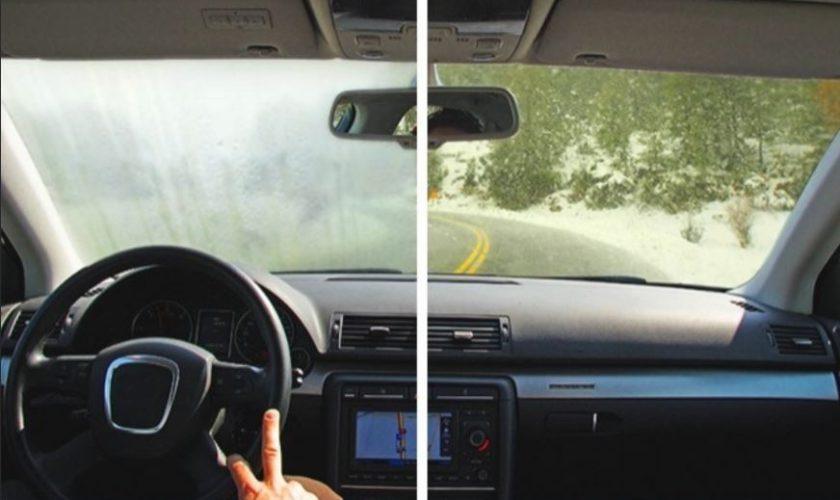 Trucul prin care dezaburești şi dezgheţi geamul mașinii foarte repede
