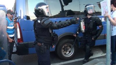 """""""Promisiunile"""" Jandarmeriei pentru protestul de pe 1 decembrie: """"Fiecare își asumă consecințele"""""""