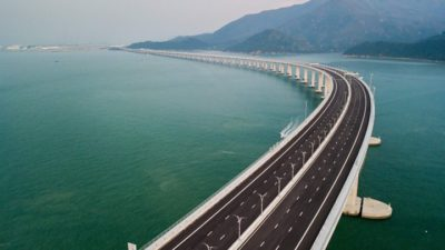 VIDEO Autostrada București – Brașov ar putea fi făcută de grupul care a construit cel mai lung pod din lume