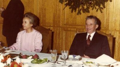 Cum petreceau Elena și Nicolae Ceaușescu de Paște: masă țărănească în sufragerie