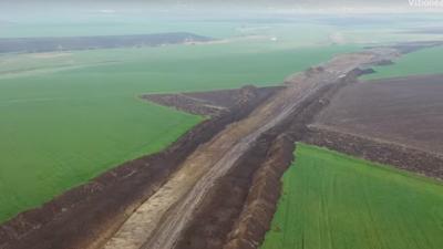 VIDEO Bacău: cum arată primii kilometri ai autostrăzii Moldovei
