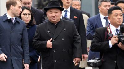 Primele imagini cu Kim Jong-un în Rusia: cum a fost primit liderul nord-coreean