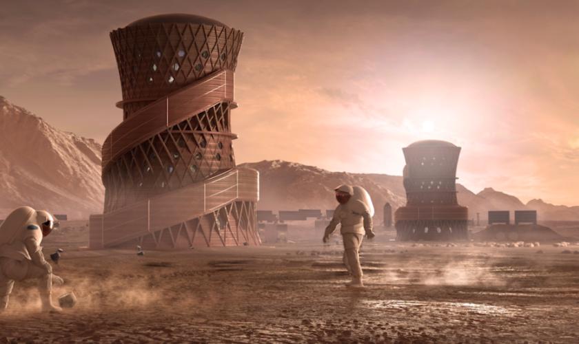 Cum arată casele pe care NASA vrea să le construiască pe Lună sau Marte – VIDEO