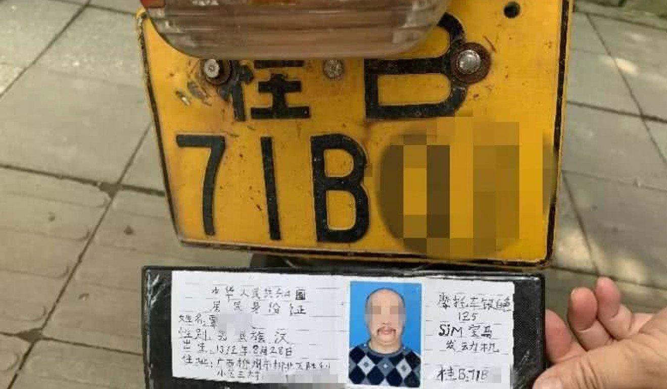 Așa arată permisul de conducere falsificat
