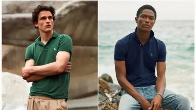 Ralph Lauren reinventează tricoul iconic și-l face din plastic reciclat