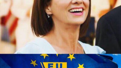Carmen Iohannis participă la campania E.U. YES LA VOT. Cum le-a arătat tuturor ca votează în 26 mai