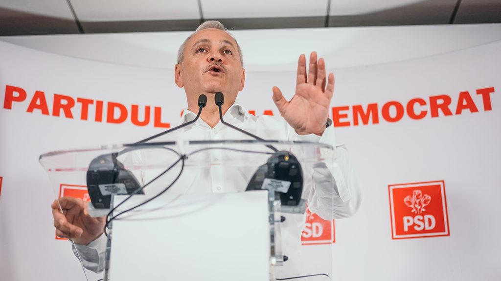 Liviu Dragnea conferinta de presa PSD