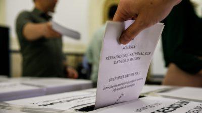 Nereguli în secțiile de votare: Ce a făcut președintele unei secții cu toate buletinele de vot