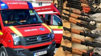 Un mort și mai mulți răniți, după o explozie la o fabrică de armament din Băbeni, Vâlcea