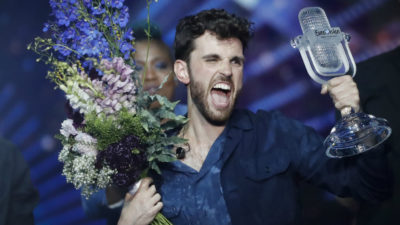 VIDEO – Cu ce cântec a câștigat Olanda finala Eurovision 2019. Momentul de glorie al concurentului Duncan Laurence