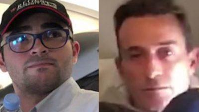 Răducu Mazăre i-a făcut un semn bizar tatălui său, în avion. Ce s-a întâmplat în drum spre România
