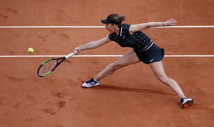 Simona Halep, criză de nervi la Roland Garros. Ce le-a făcut celor din echipa ei