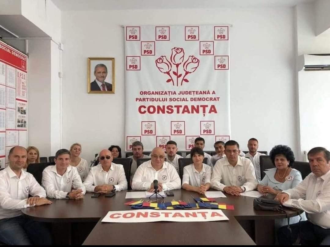 Dragnea avea tablou inclusiv în sediul PSD Constanța