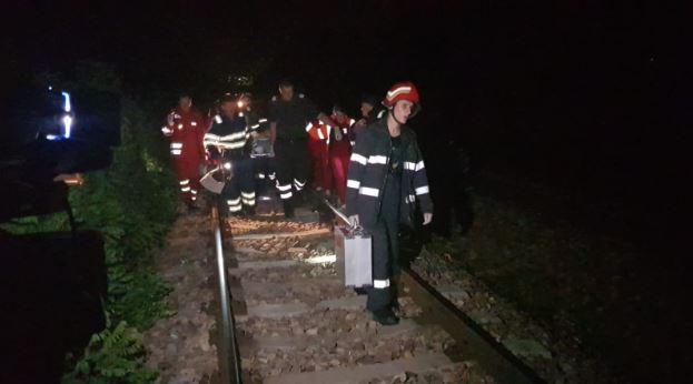 Accident violent în Iași. Trei persoane au fost ucise de un tren