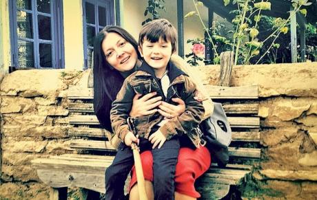 Oana, soția actorului din Las Fierbinți