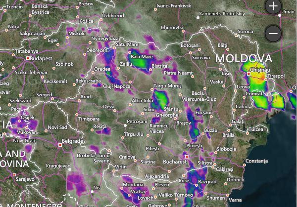 Prognoza meteo pentru joi, 6 iunie