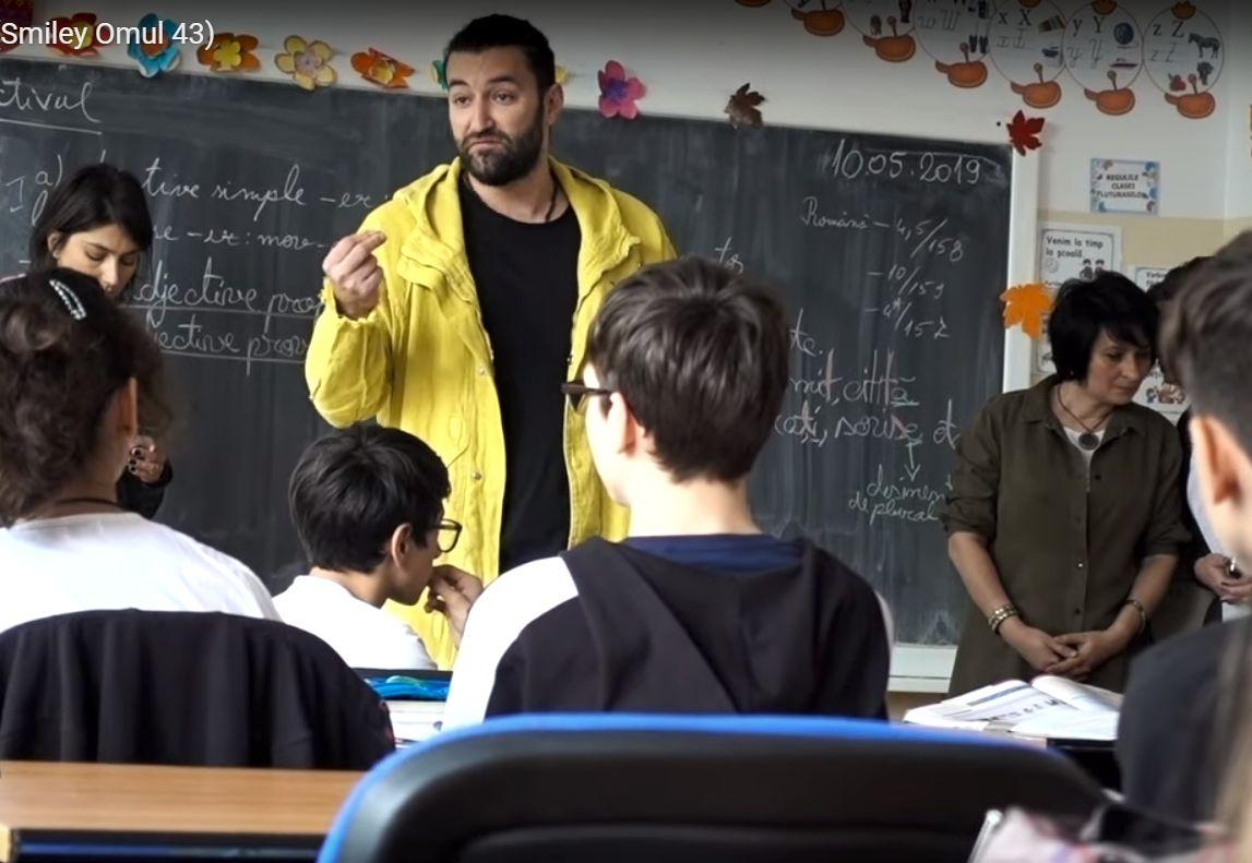 Smiley, gest emoționant pentru un elev hărțuit de colegii de clasă. Ce le-a transmis copiilor