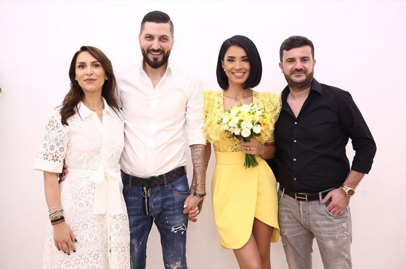 Adelina Pestrițu s-a căsătorit