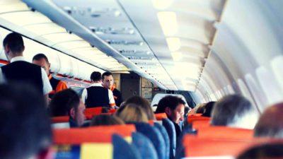 VIDEO: Bătaie în avion, la Otopeni. Imaginile au ajuns pe internet