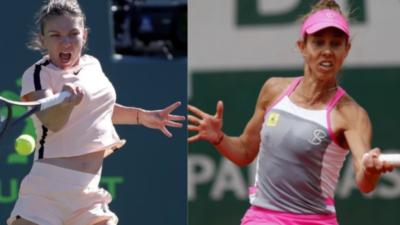 Când joacă Simona Halep cu Mihaela Buzărnescu, la Wimbledon. Turul doi va fi 100% românesc