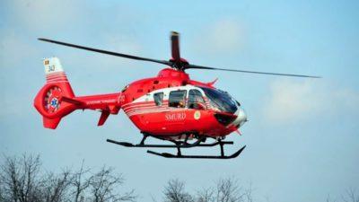 Copil de 4 ani, transportat de urgență cu elicopterul la Craiova, după ce a înghițit insecticid
