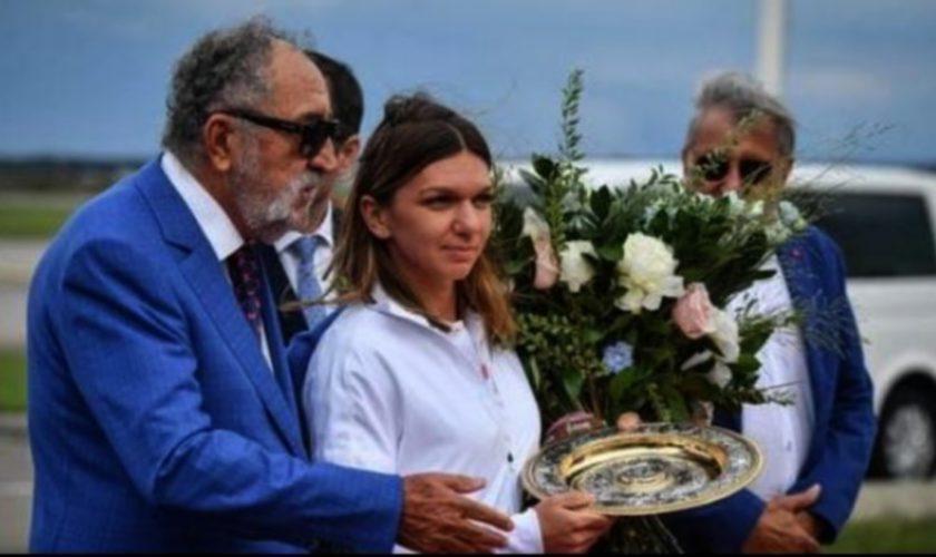 """Simona Halep, luată la întrebări de Ion Țiriac pe Național Arena despre meciul istoric de la Wimbledon. """"Ai pornit prima. De ce?"""""""