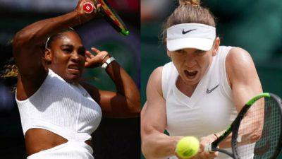 Cine transmite la TV meciul Simona Halep – Serena Williams, finala de la Wimbledon 2019. Surpriză pentru români
