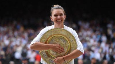 Simona Halep va prezenta trofeul de la Wimbledon pe Arena Națională. Gabriela Firea nu va participa la eveniment