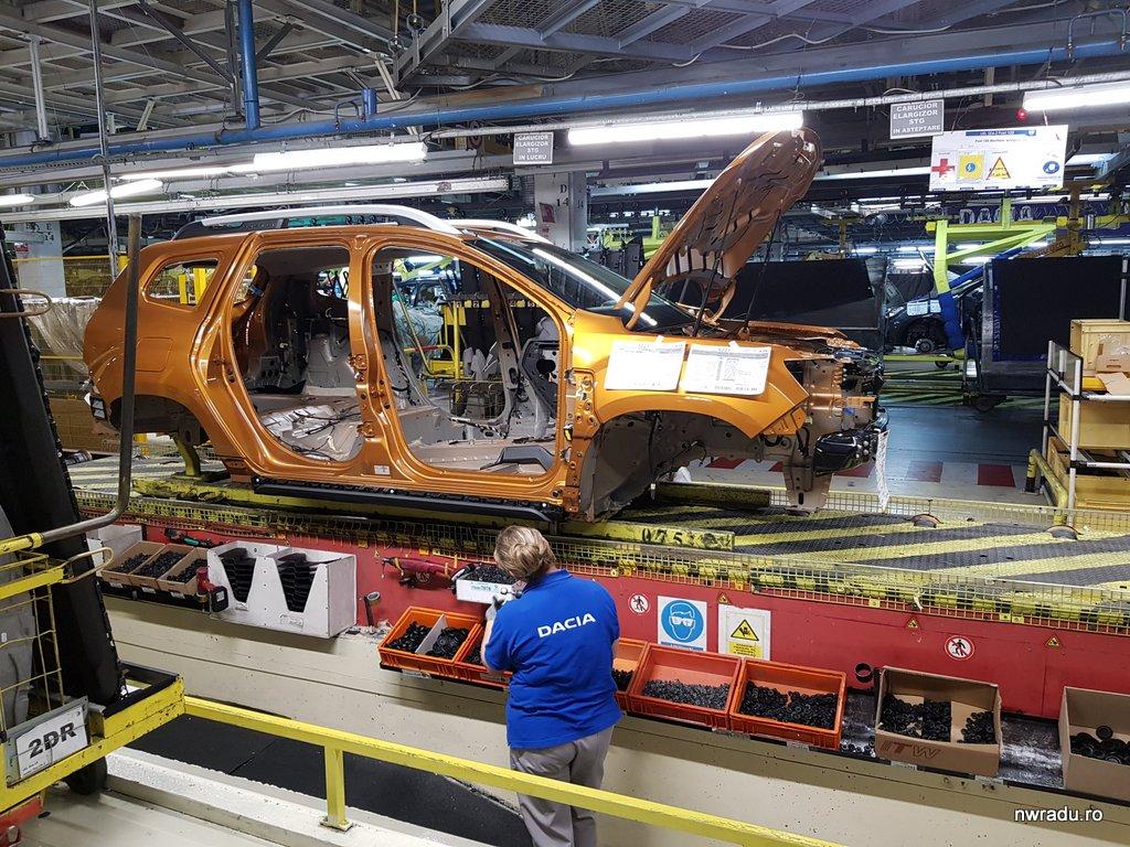 Care e diferența salarială dintre un angajat Dacia Mioveni și unul de la Ford Craiova