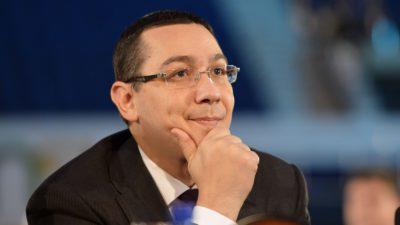 """Victor Ponta intervine în discuția despre candidații PSD și ALDE la alegerile prezidențiale: """"Trebuie o schimbare profundă de sistem"""""""