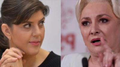 """Viorica Dăncilă o atacă pe Laura Codruța Kovesi în presa internațională. """"Ce ne facem dacă acuzațiile sunt reale?"""""""