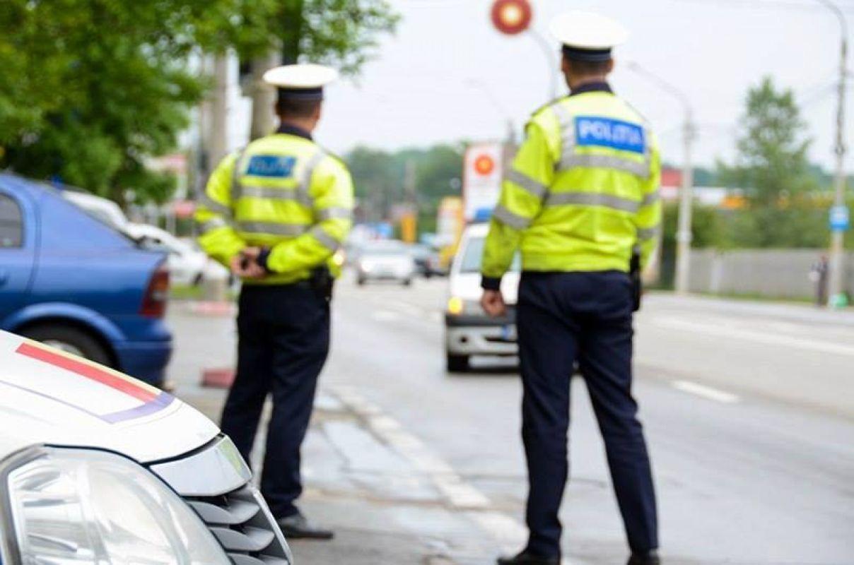 Polițiștii l-au condus pe șofer la audieri