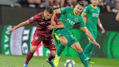 CFR Cluj – Slavia Praga 0-1, în play-off-ul Champions League. Omrani a ratat un penalty! Vezi rezumatul VIDEO