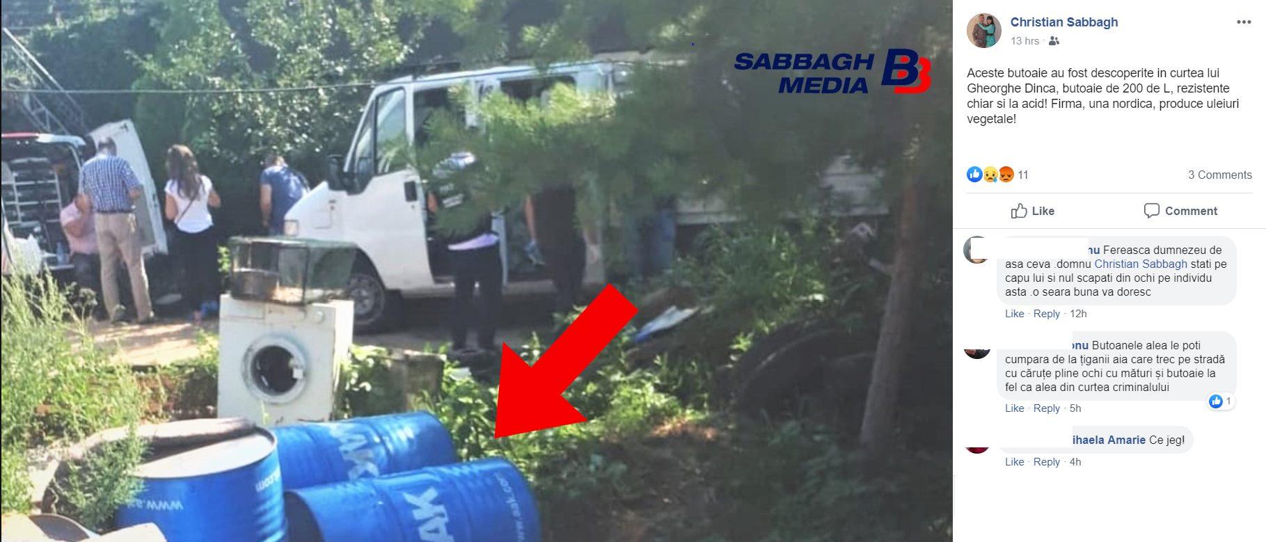 Ce au găsit anchetatorii în curtea lui Gheorghe Dincă din Caracal. Aici ar fi pus cadavrele