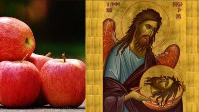 De ce nu e bine să mănânci mere de Tăierea Capului Sfântului Ioan Botezătorul. Post până pe 14 septembrie