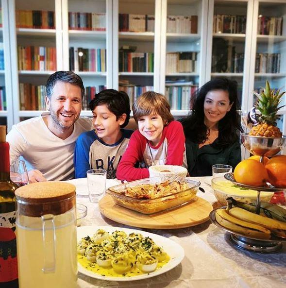 Andi Moisescu, Olivia Steer și copii lor