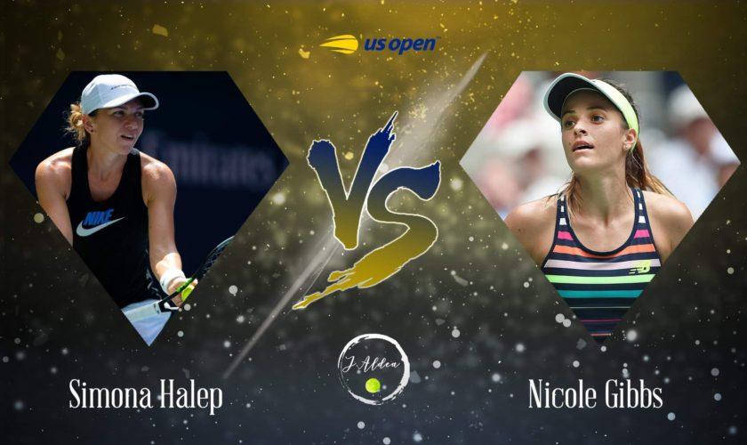 Cu cine joacă Simona Halep în primul meci la US Open. Nicole Gibbs este pe locul 135 WTA