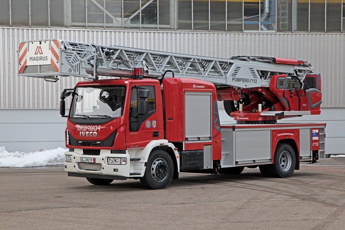 Masină de pompieri