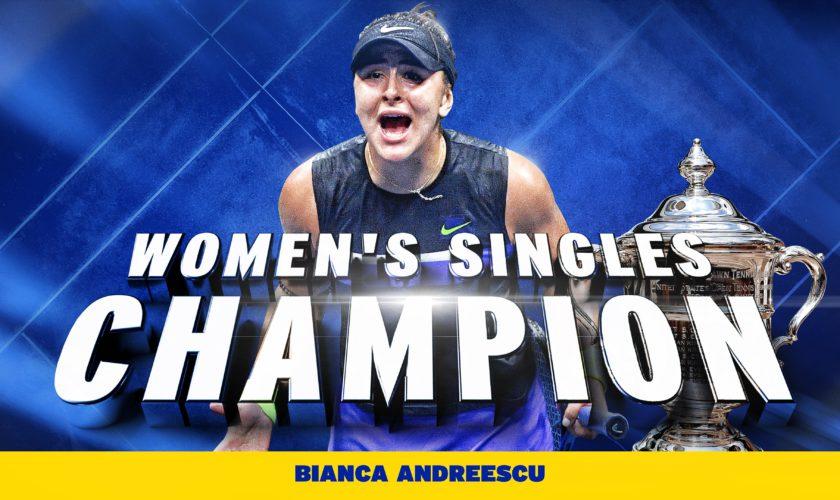 Bianca Andreescu e campioană la US Open, după 6-3, 7-5 cu Serena Williams. A urcat peste Halep în clasamentul WTA. VIDEO