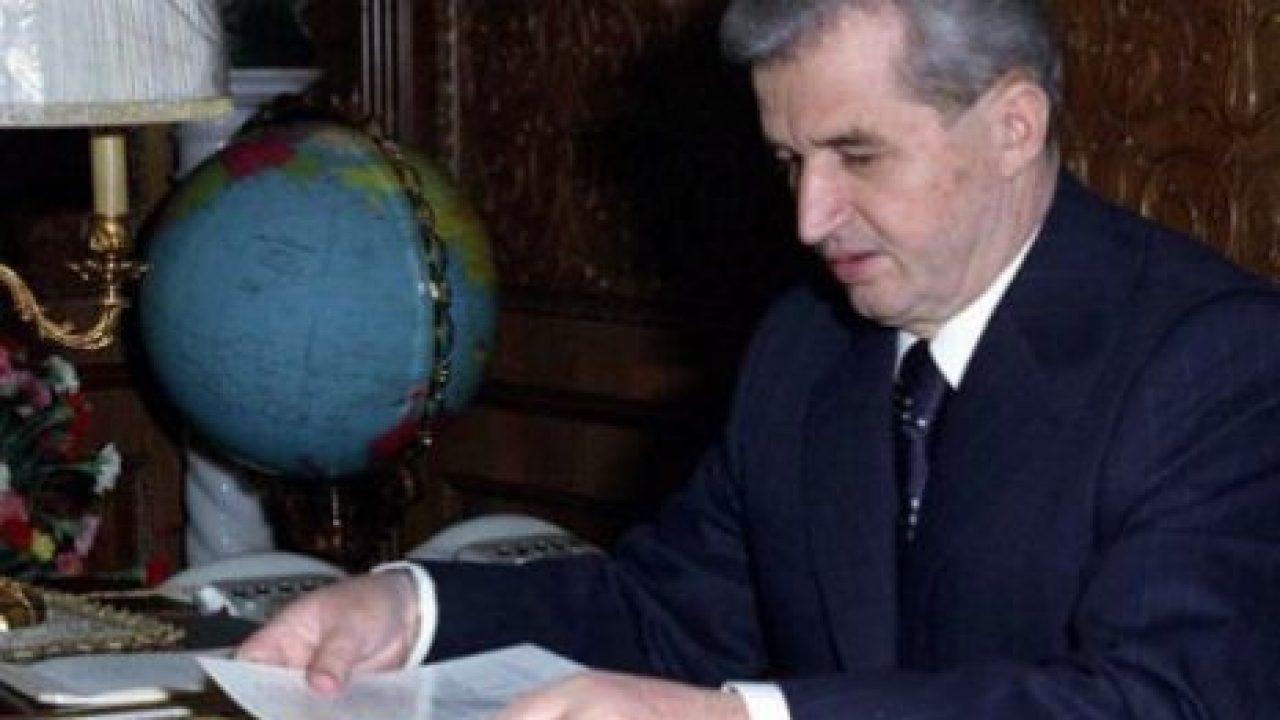 Nicoale Ceaușescu.