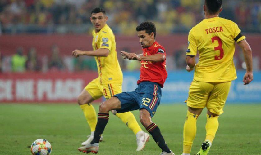 România – Spania 1-2, în preliminariile Euro 2020. Tricolorii au ajuns pe locul 4 în grupa F. VIDEO