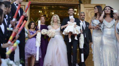 De ce a plâns Andreea Bălan la nunta ei. Invitații au fost șocați să o vadă cu lacrimile pe obraz