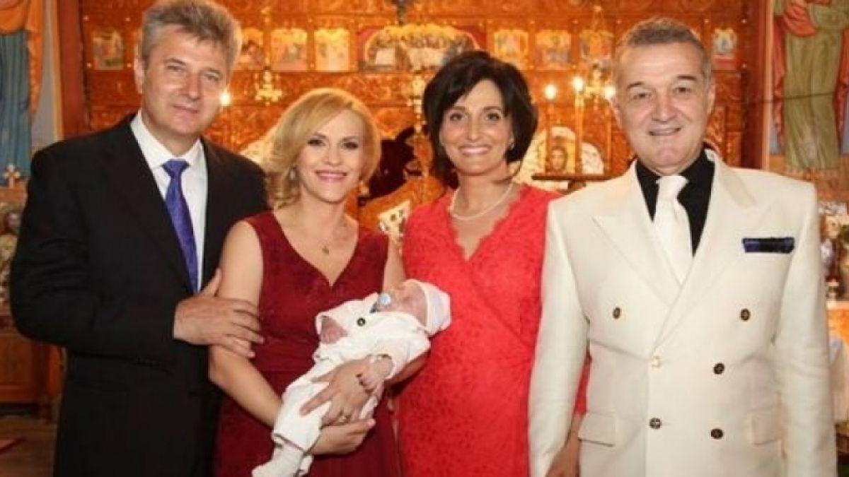 Gigi Becali este nașul Gabrielei Firea