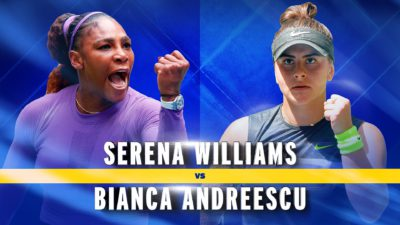 Când joacă Bianca Andreescu finala US Open cu Serena Williams