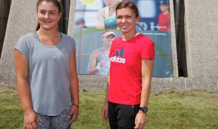 Bianca Andreescu e mai bună decât Simona Halep. Cum o laudă americanii