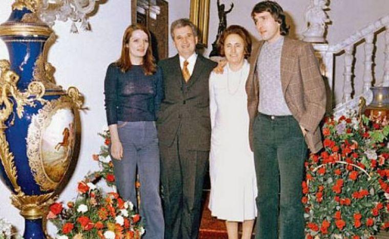 Copiii lui Ceaușescu: Nicu, Valentin și Zoia