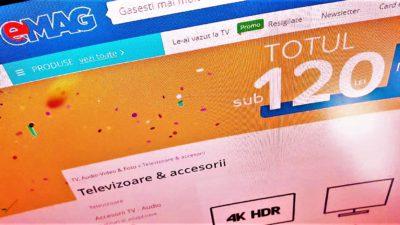 eMAG oferă televizoare Samsung și telefoane Huawei cu doar câțiva lei. Cum incepe toamna reducerilor online