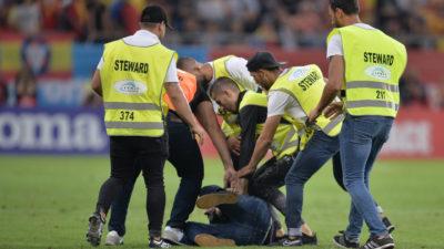 Ce sancțiune va primi România, după incidentele de la meciul cu Spania. Suporterii violenți s-au ales cu dosar penal